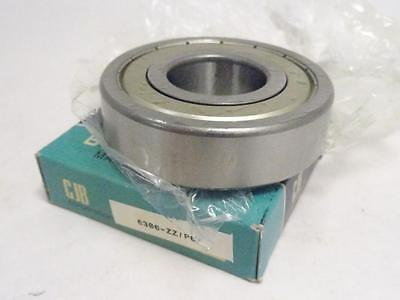147979 New In Box, CJB 6306-ZZ/P63 Bearing, 30mm ID 72mm OD 19mm W