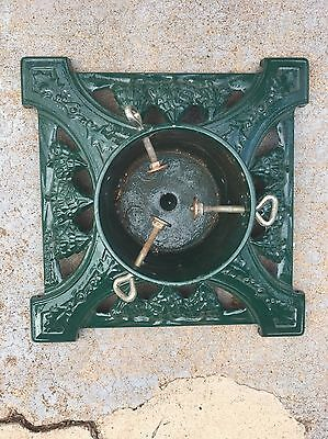 Collectible Cast Iron John Wright Co. LL Bean Christmas Tree Stand Made in USA