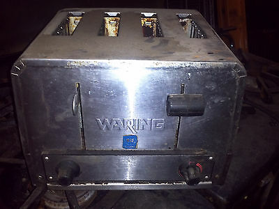 Waring 4 Slice Commercial Toaster - AS IS
