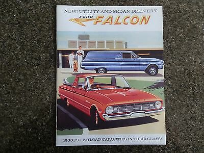 1960 Ford Xk Ute And Panel Van Sales Brochure   100% Guarantee