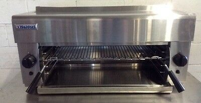 Waldorf by Moffat Natural Gas Salamander Grill Commercial Wall Mount SN8200G