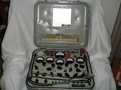 TV-2A/U Military, Mutual Conductance, Working, Tube Tester