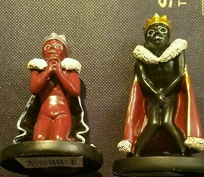 Rare Mint Cond Puscifer /a Perfect Circle /tool Gimp King Figurines , Set Of 2