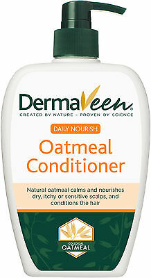 Dermaveen Daily Nourish Oatmeal Conditioner 1L Litre Sensitive Scalp Skin Calm