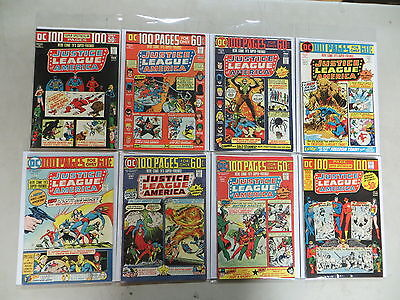 Justice League Of America 8 Iss Bronze Comic Run 110-116 Dc-17 Dover Hi Gr Giant