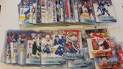 2016-17 Upper Deck Series 2 UD Canvas Base 181-210 YG 211-240 RC Lot UPick