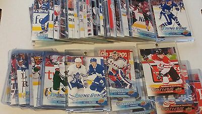 2016-17 Upper Deck Series 2 UD Canvas 241-280 POE Retired Rare 1:192 Lot UPick