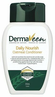 Dermaveen Daily Nourish Oatmeal Conditioner 250Ml Sensitive Scalp Skin