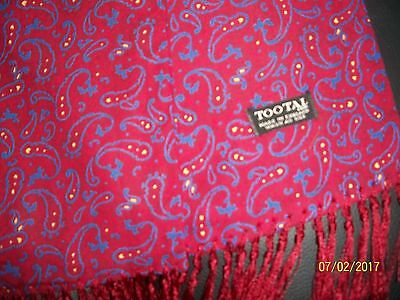 VINTAGE ,MODS TOOTAL SCARF Classic.