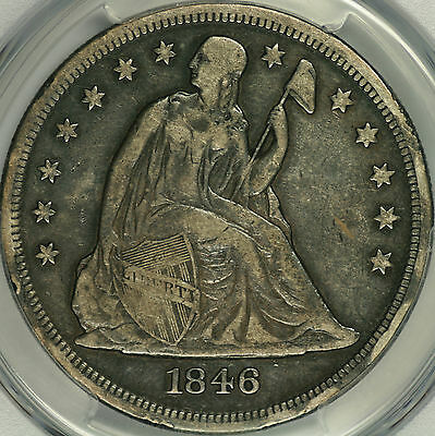 1846-O Seated Liberty Dollar PCGS VF30