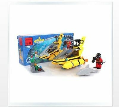 Toy building blocks open intellectual enlightenment 1215 Dolphinwatch boat