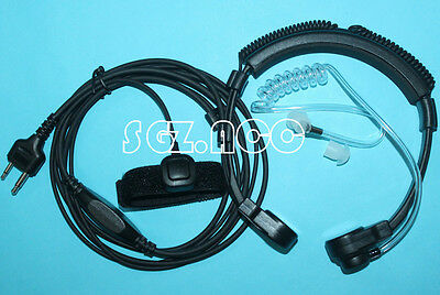 Flexible Throat Mic Headset Earpiece For ICOM IC-02AT IC-03AT IC-04AT IC-2GAT