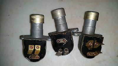 3 car switch interruptor Vintage car