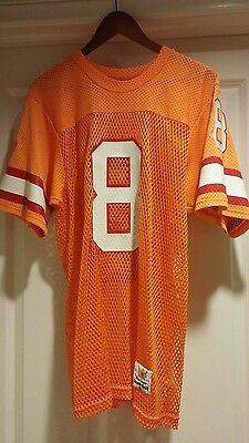 Vtg 80s * Steve Young * Tampa Bay Buccaneers Sand Knit  authentic jersey. 49ers