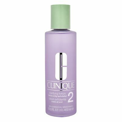 Clinique Clarifying Lotion 400ml Type 2 Dry Combination Skincare Toner Smooth