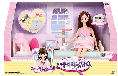 Korean Barbie Doll  Mimi 2016 New Cats and goodnight