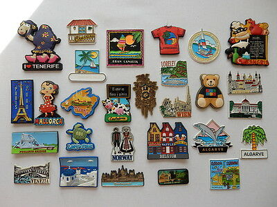 One Selected Mostly Rubber Souvenir Fridge Magnet from Europre