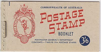 AUST. STAMP 1953 $1 BOOKLET With RED 31/2d Queen Stamps.  SB32