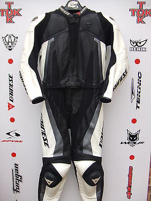 Dainese Steel 2 piece race suit with hump uk 44 euro 54