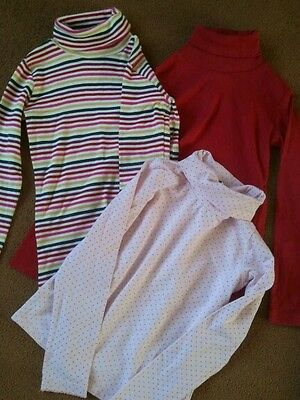 Next Girls Polo Tops (2) age 6 years
