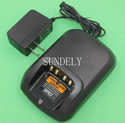 Ni-MH Li-ion Fast Charger For Motorola IMPRES Radio XPR6550 XPR6580