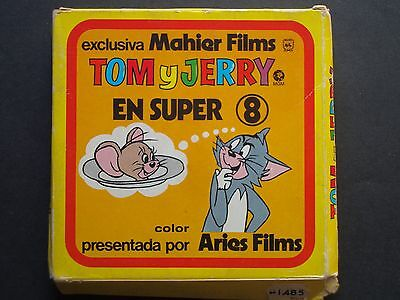 Super 8 mm Tom y Jerry exclusiva Mahier Films
