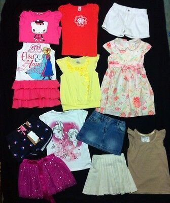 Girls Clothes Size 6 Bulk Pack With 12 Items