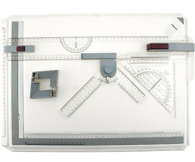 A3 Drawing Board Table Top Architects Technical Design Box Set Magnetic Bar