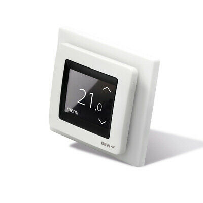 DEVI Devireg Touch Thermostat - White - 140F1064 (Replacement for devireg 550)