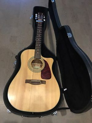 Fender CD140SCE - Acoustic Electric Guitar with Case