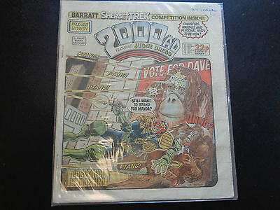 2000AD prog 368 comic in good condition