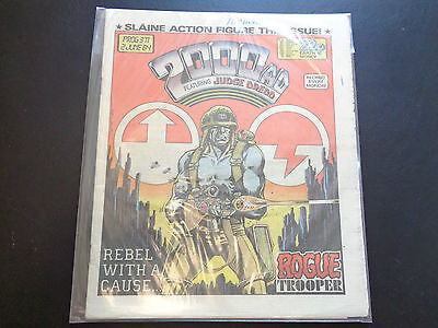 2000AD prog 371 comic in good condition