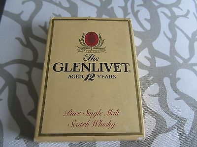 """Vintage Stainless Steel 6oz Hip Flask The Glenlivet Boxed """"Good gently used con"""""""