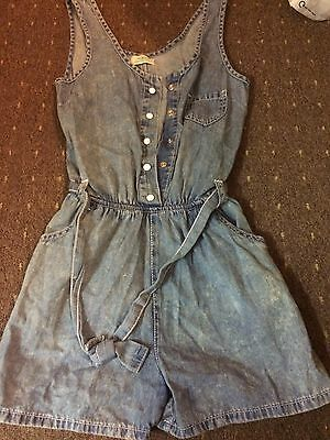 Cute Denim Play suit Aged 10-11 Years