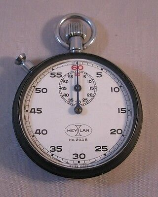 1970S Vintage Meylan Mechanical Stopwatch Stop Watch Rally Timer
