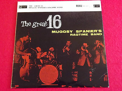 MUGGSY SPANNER'S RAGTIME BAND~THE GREAT 16. 1959 (This Early 1970's) Mono