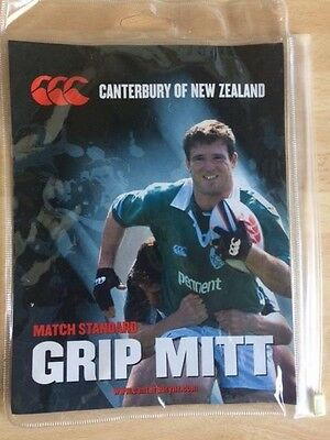 Canterbury Match Standard Grip Mitt with Canterbury Rugby Boots Stud Pack