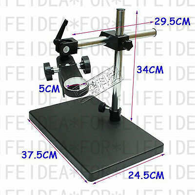 Gimbal Free Rotating Focus Stand Base For Microscope,Camera Lens Holder ID= 50mm