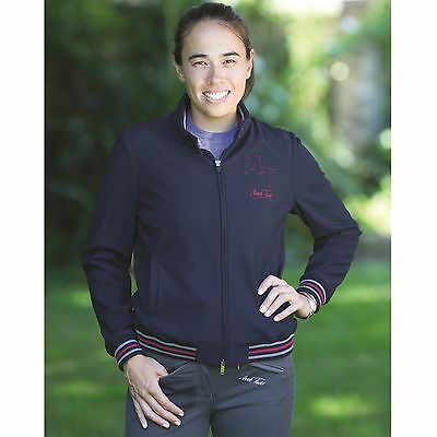 MARK TODD CHARLOTTE LADIES BOMBER JACKET Italian Collection Technical Navy XS-XL