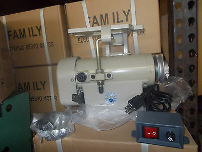 New Industrial Sewing Machine Servo Motor 3/4 hp with speed control