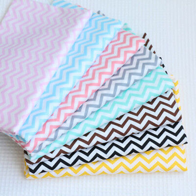 One PCS Pre-cut Fabric Cotton Baby Fabric For Sewing Waves 8 Colour