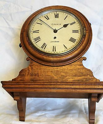 antique fusee clock Godwin London