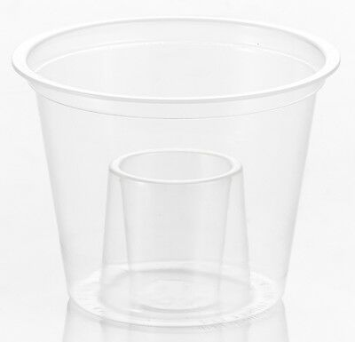 50 x Bomb Shots Cups 60ml 25ml Clear Plastic Glasses Mixers Disposable Jagerbomb