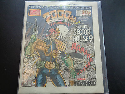 2000AD prog 359 comic in good condition (10 March 1984)