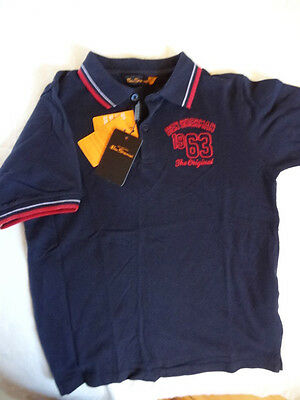 BNWT Ben Sherman Boys Size Age 10-11- USA 12 Polo Shirt -Top Quality & Style