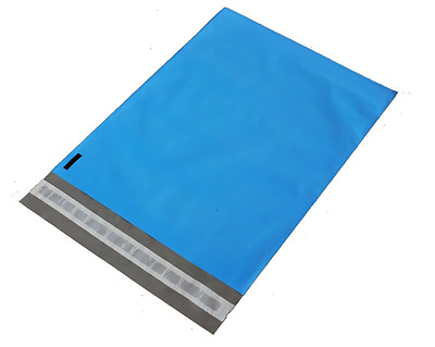 100 10X13 Blue Poly Mailers Bags Shipping Envelopes Self Sealing Mailers Color
