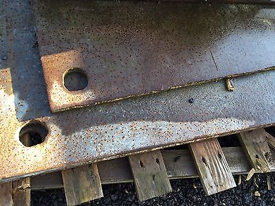 Steel Road Plates 6ft X 4ft X 1in (3 available - price for 1)