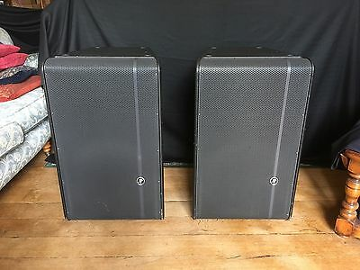 Mackie HD1521 Active Powered Speakers Pair With Covers