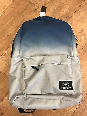 No Reserve-Cheap-Dc Shoes-D.c. Shoes Bunker Dip Dye Backpack-Blue-Brand New-Tags