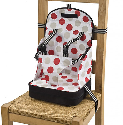 Travel Baby Booster Seat Chair Toddler Kids Safety Portable Table Feeding Dining